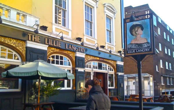 LillieLangtry pub